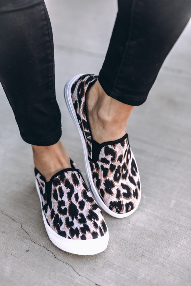 The Kathleen Animal Print Sneakers