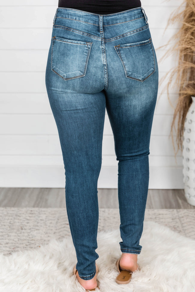 The Laurie Dark Wash Jeans