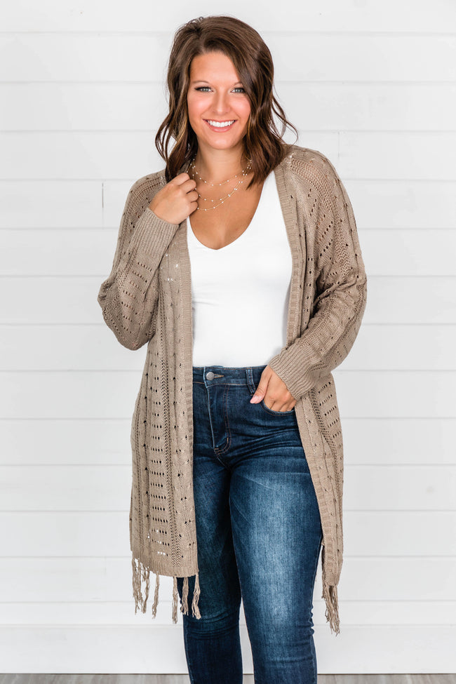 This Love I've Found Mocha Cardigan