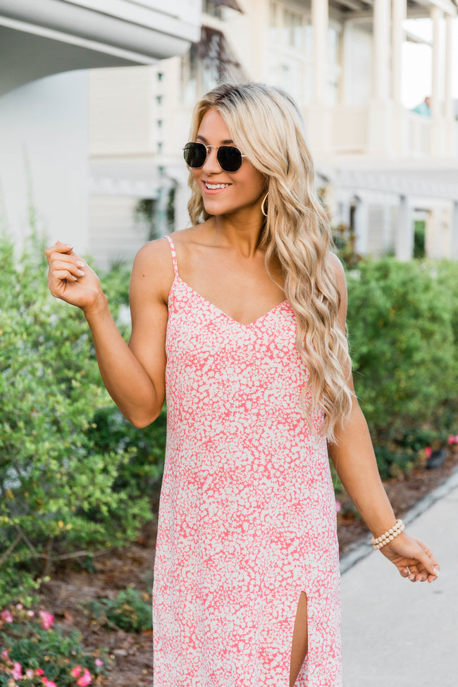 True Believer Midi Dress Watermelon