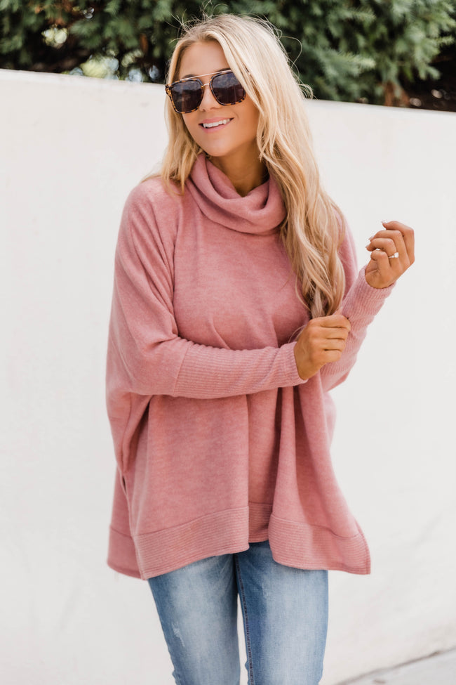 We Can Go The Distance Rose Sweater