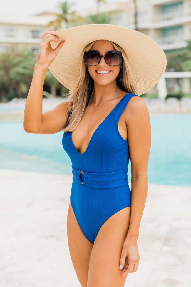 Sunshine Goddess Blue Swimsuit