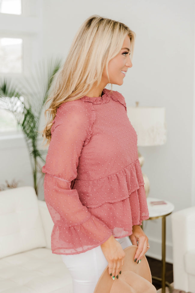 My Perfect Match Terracotta Blouse