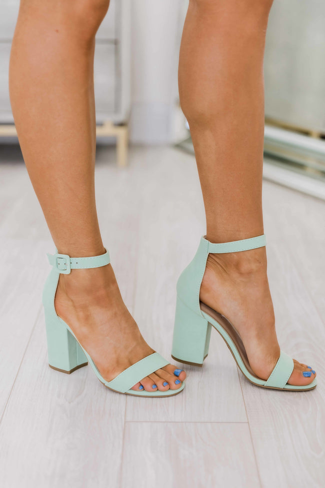 The Hayley Mint Heels
