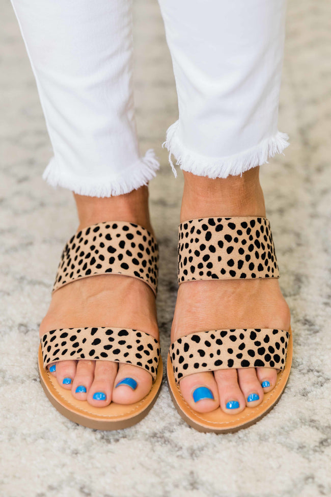 The Arden Sandal Spotted Leopard