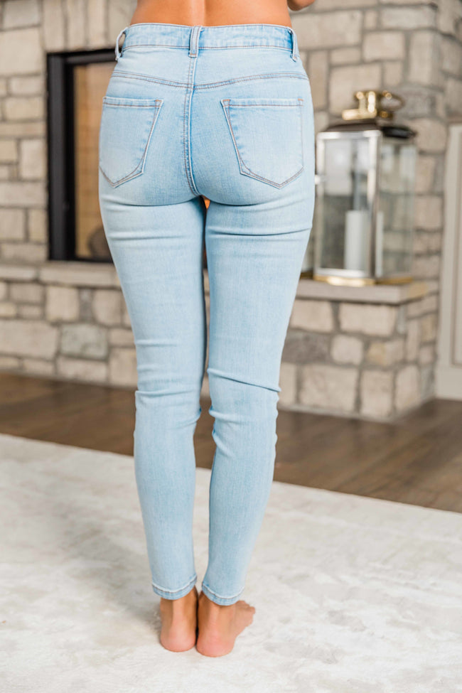 The Addison Light Wash Jeans