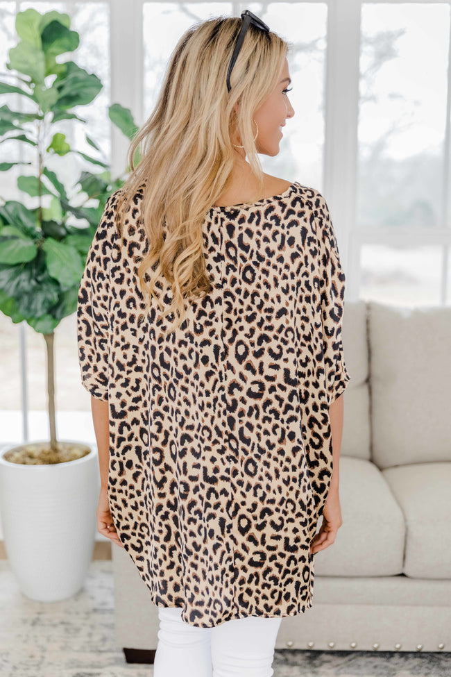 Won't Be Ignored Animal Print Blouse