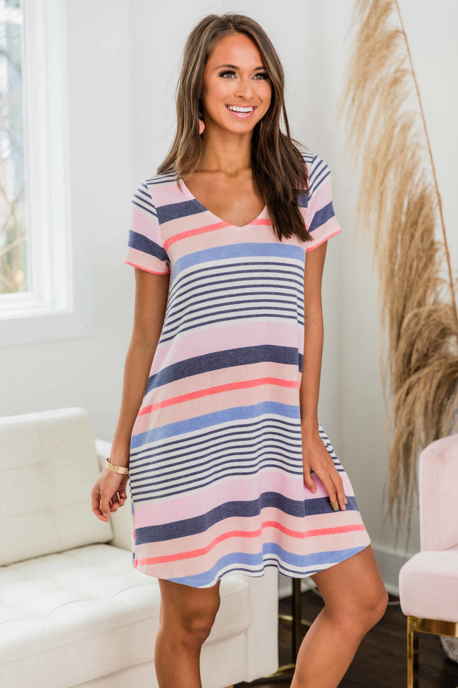 There's Nothing Like This Striped T-Shirt Dress