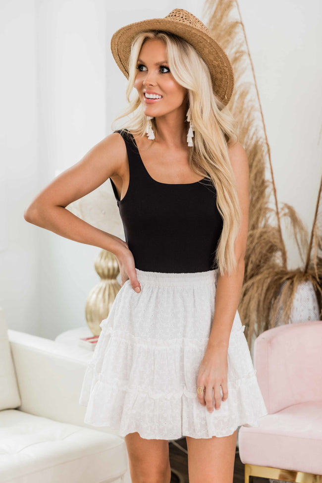 Delighted Heart White Lace Skirt FINAL SALE