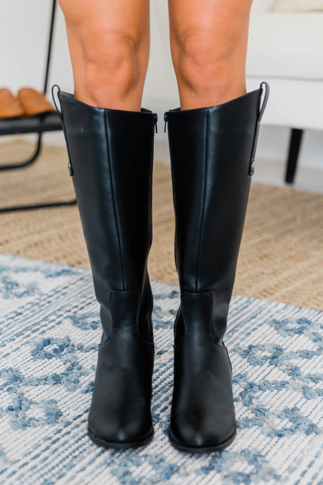 The Kaitlyn Black Boots CLEARANCE