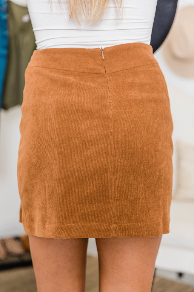 Stand By This Love Brown Skirt
