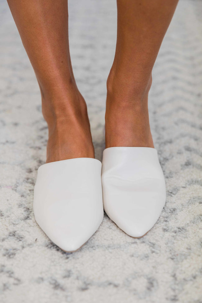 The Emma Mules Off White
