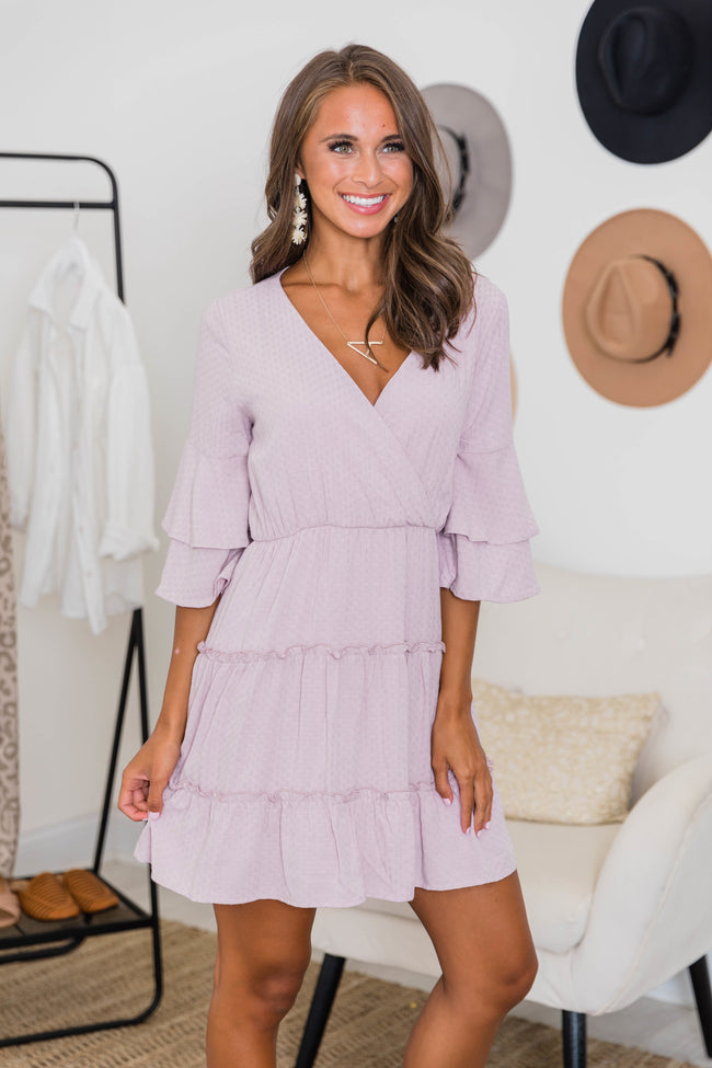 A Love To Believe In Lavender Dress