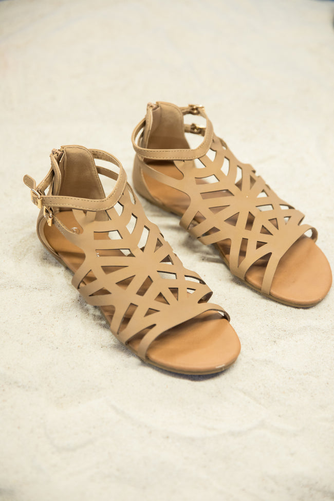 The Barbara Tan Sandals  FINAL SALE