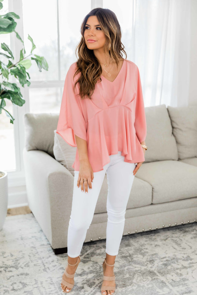 I Could Be Yours Rose Blouse