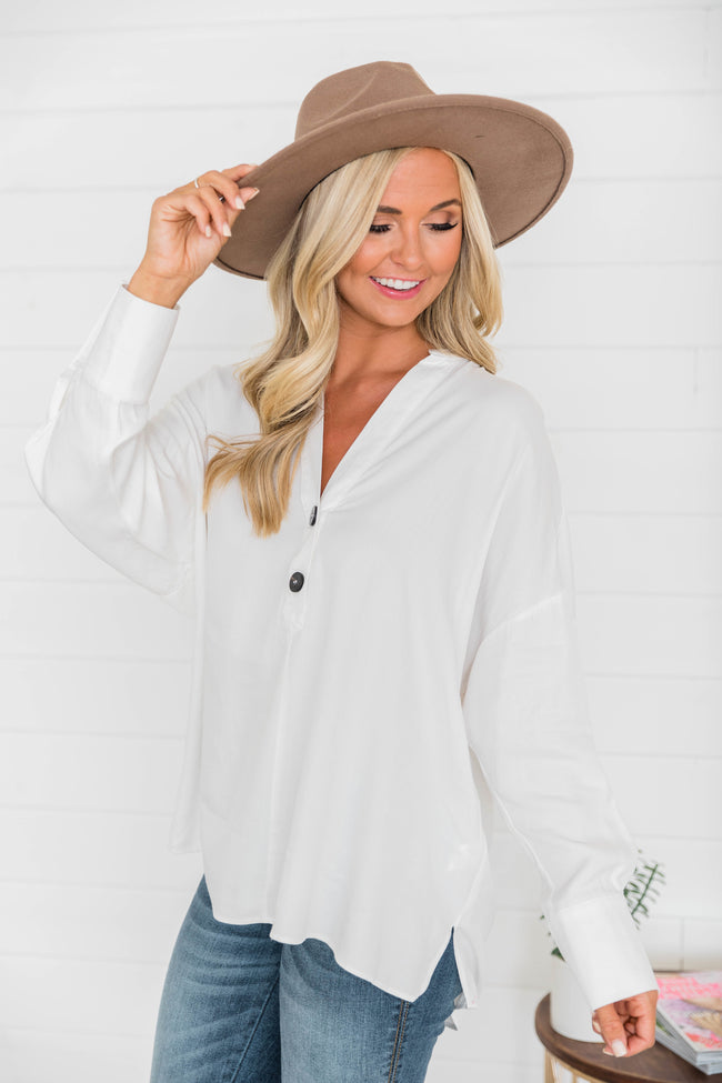 Enduring Beauty White Blouse