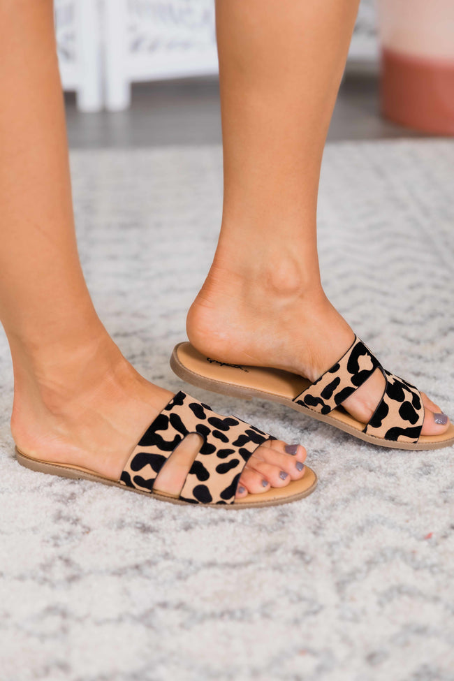 The Lulu Animal Print Sandals
