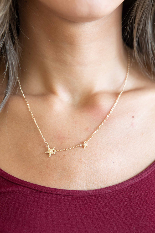 A Fabulous Feeling Gold Star Necklace