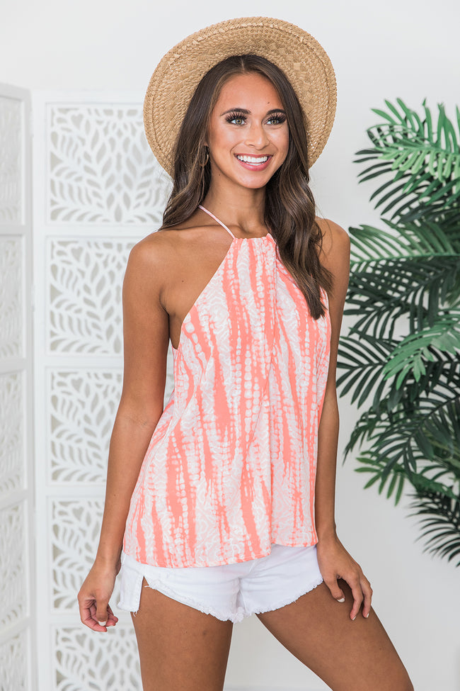 Easy Breezy Days Coral Tank