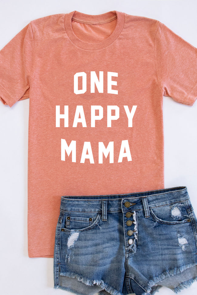 One Happy Mama Graphic Tee