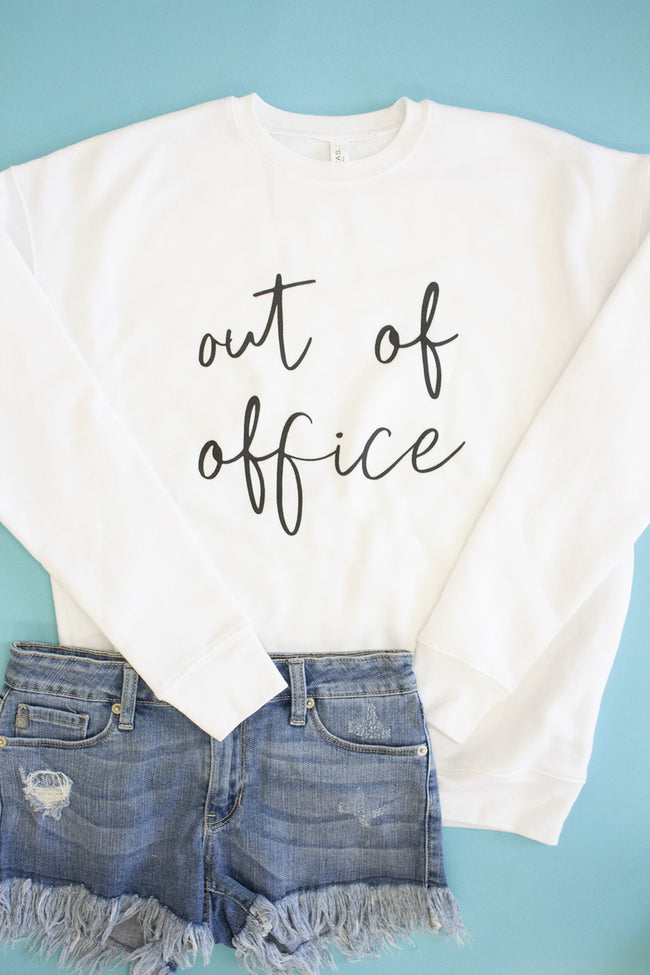 Out Of Office Graphic Sweatshirt