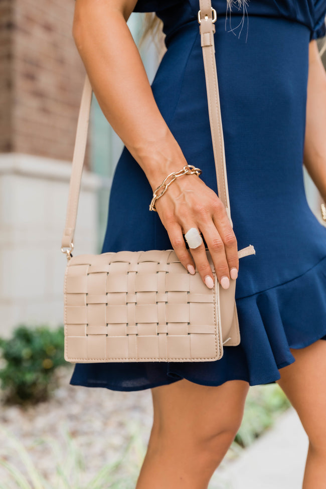 Ready To Go Woven Bag Beige