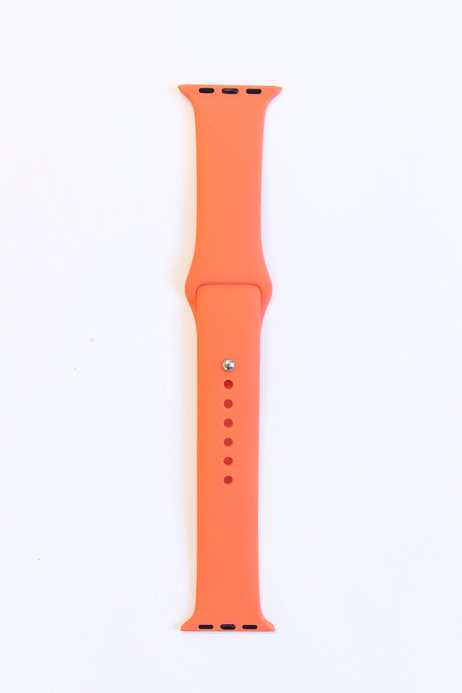 Arrive In Time Coral Watch Band