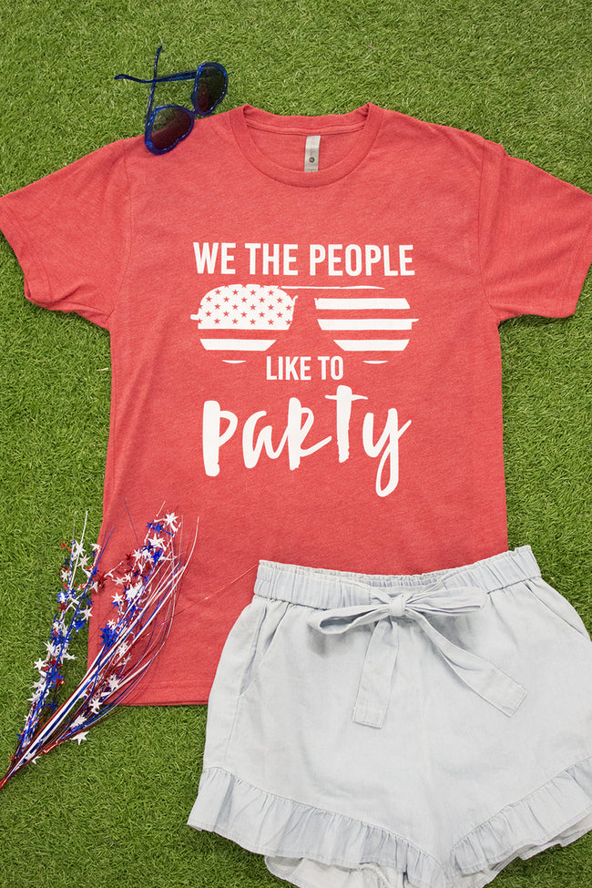 We The People Like To Party Graphic Tee