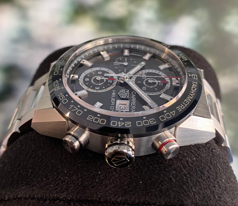 Carrera Heuer 01 CAR201W.BA0714 Box and papers 2017