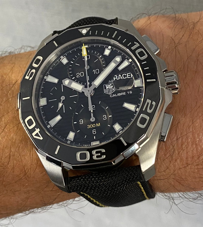 Aquaracer Chronograph CAY211A.FC6361 Box & papers 2018
