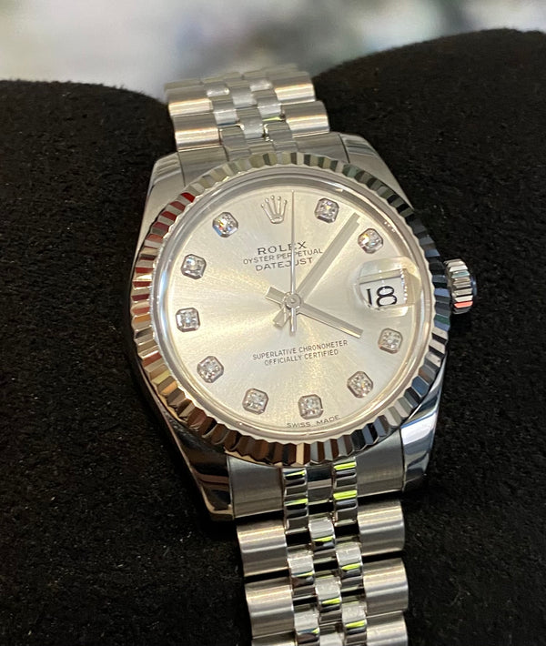 Datejust 31 178274G Box & papers 2019