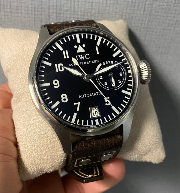 Big Pilot Stainless Steel seven day automatic IW500201