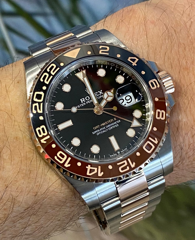 GMT-Master II 126711CHNR Box & papers 2019