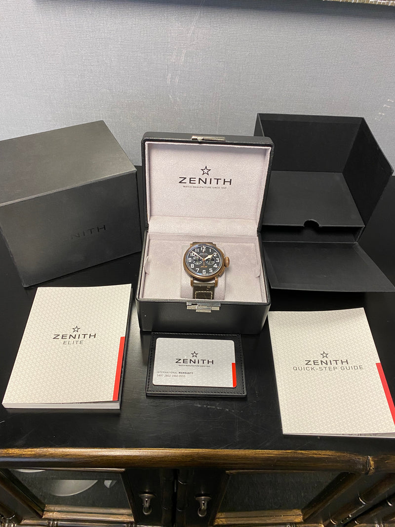Zenith Pilot Type 20 Extra Special Box & Papers 2017 29.2430.4069/21.C800