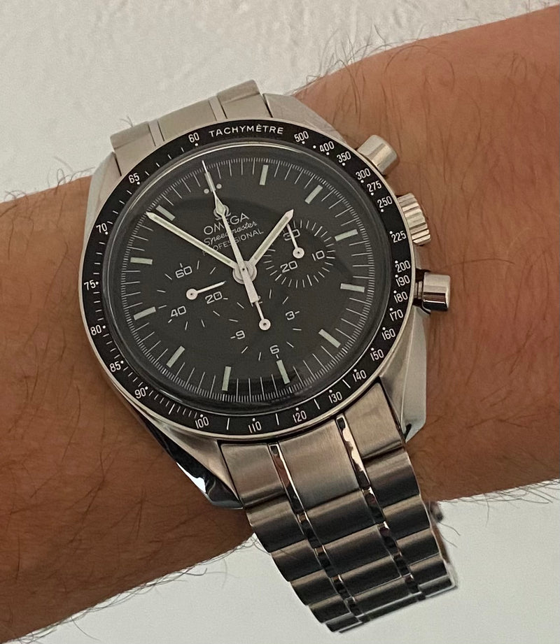 Speedmaster Moonwatch 31130423001005 Unworn Box & papers 2021