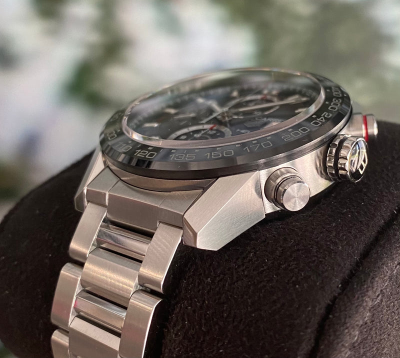 Heuer 01 Carrera CAR201Z.BA0714 Box and papers 2017