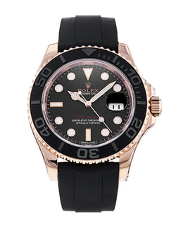 Rose Gold Yachtmaster 40 116655 Box & papers 2016