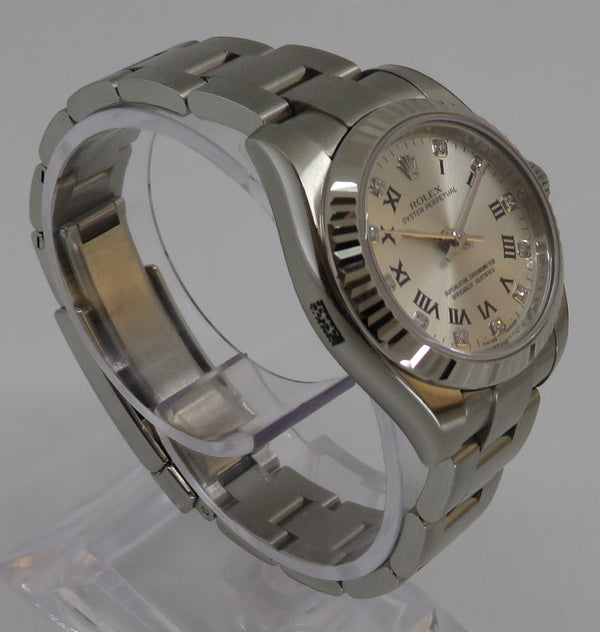 Rolex Oyster Perpetual 26 Steel & 18ct White Gold 176234