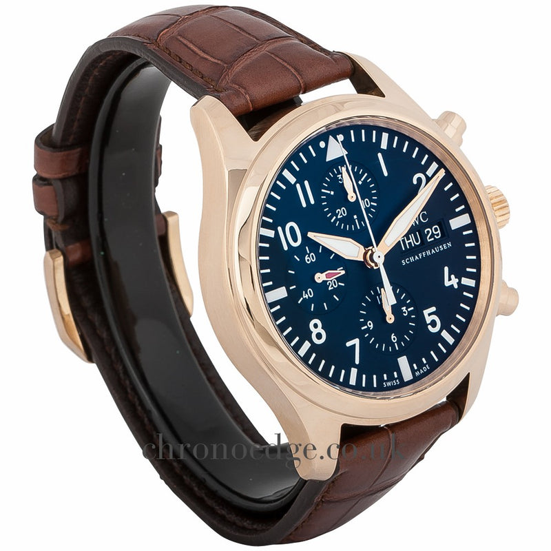 IWC Pilots 18ct Rose Gold Automatic Chronograph IW371713