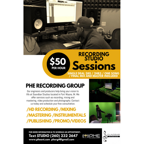 PHE Recording Group Fort Wayne Recording Studio