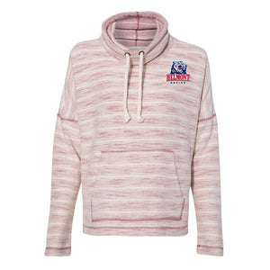 NCAA Belmont University Bruins PPBEL01 Women's Baja French Terry Cowl Neck Pullover