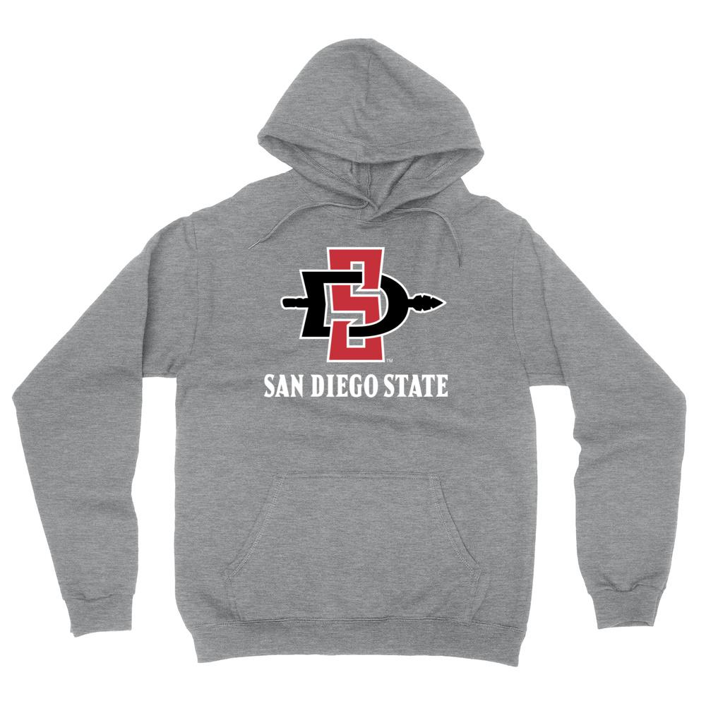Official NCAA SDSU Aztecs - PPSDS04 Mens / Womens Boyfriend Hoodie