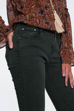 Load image into Gallery viewer, High Waist Skinny Jeans in Khaki