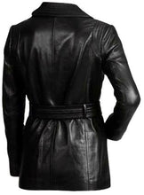 Load image into Gallery viewer, Black Women Fashion Leather Jacket