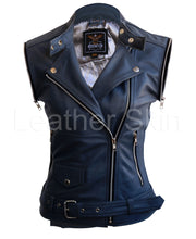 Load image into Gallery viewer, Women Gray Grey Leather Jacket