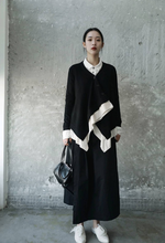 Load image into Gallery viewer, Toshihiro V-Collar Layered Button Sweater
