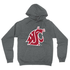 Official NCAA Washington State University Cougars - RYLWST06 Mens / Womens Boyfriend Hoodie