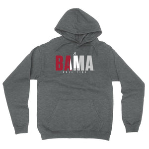 Official NCAA Alabama Roll Tide - State Pride Mens / Womens Boyfriend Hoodie