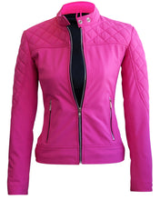 Load image into Gallery viewer, Women Pink SoftShell Jacket