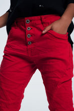 Load image into Gallery viewer, Original Boyfriend Jeans in Red